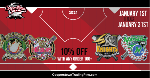 Cooperstown Trading Pin Specials