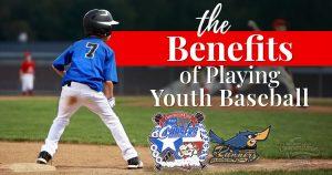 Benefits of playing youth baseball